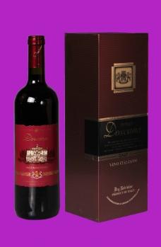 多斯卡纳干红葡萄酒红图片