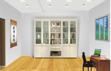 書房 室內設計cdr圖片