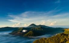 湖泊 山水图片