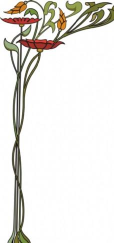 花卉图案图片_花边花纹_底纹边框_图行天下图库