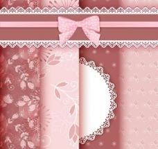 花纹花卉布纹背景图片