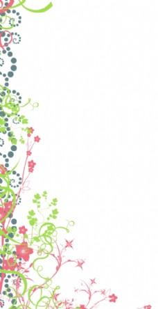 欧美花纹花框花边人物背景