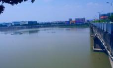 中国桥梁 梅江景色图片