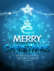 圣诞节线描圣诞屋