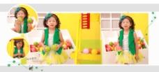 儿童 影楼 相册图片