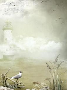 自然背景模板图片
