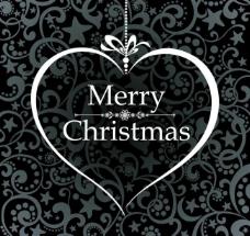 欧式花纹圣诞节背景图片