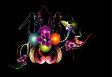 激情音乐背景图片