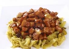 酸菜红烧肉图片