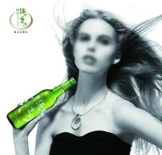 珠江啤酒夜场广告图片