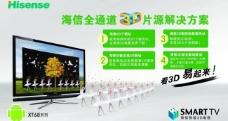 海信电视 (注背景合层)图片