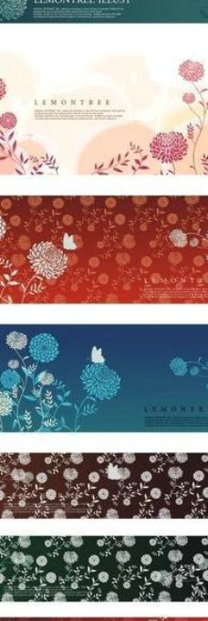 菊花背景图图片