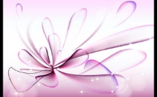 紫色背景 动感线条图片