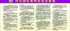 村计划生育村民自治章程图片
