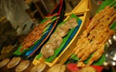 马尔代夫的烤肉晚餐图片