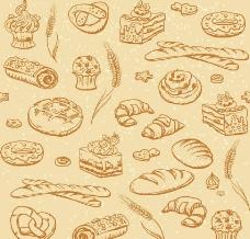 面包小麦图片