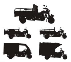三轮摩托图片