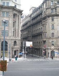 老上海街道图片