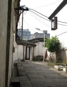 绍兴乡间路图片