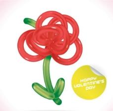 鮮花氣球圖片