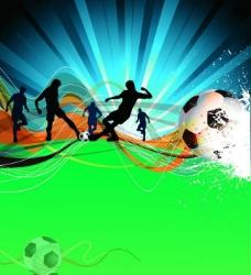 足球比赛海报图片