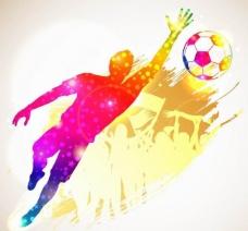 足球比赛背景图片