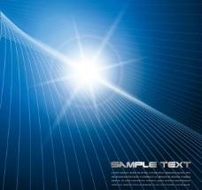 动感线条 光线 光芒 商务科技背景图片