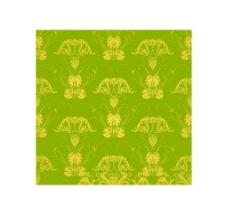 绿底黄色底纹素材图片