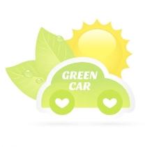 绿叶小汽车图片