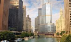 城市水系图片