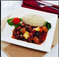 卤肉饭图片