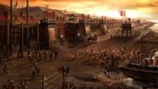 《赤壁》电影概念场景图片