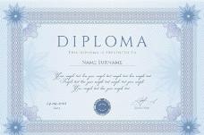 文凭证书图片