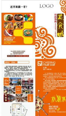 美食城招商手册超市图片