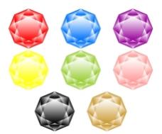 绚丽钻石图片