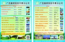 广西康辉国旅宣传单图片