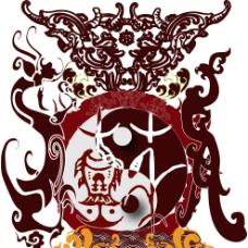 苏姓传统家族徽章图片
