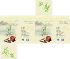 丹霞山茶平面图图片