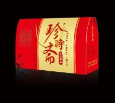 珍时斋礼盒(平面图)图片