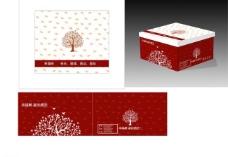 幸福树蛋糕包装图片