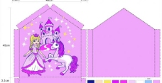 公主城堡白马盒子图片