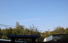 田园 天空图片