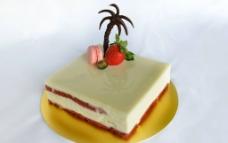 椰奶蛋糕图片
