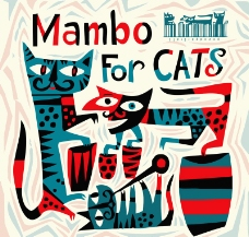 打曼波的貓圖片