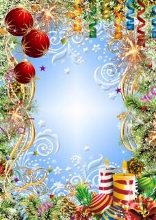 圣诞背景模板图片