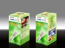 led 照明彩盒(展开图)图片