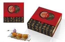 月饼礼盒(平面图)图片
