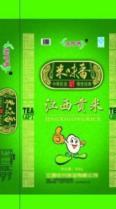 江西贡米图片