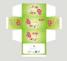 绿色抽纸盒图片