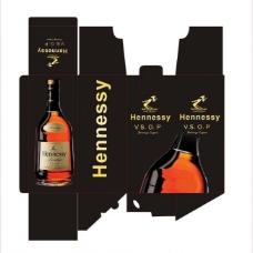 轩尼诗酒类包装盒图片